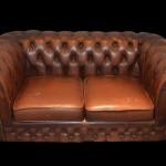 Limpieza e hidratación sofá de dos plazas en Leon